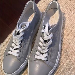 aa645165930f M.Gemi Palestra leather sneakers in gray